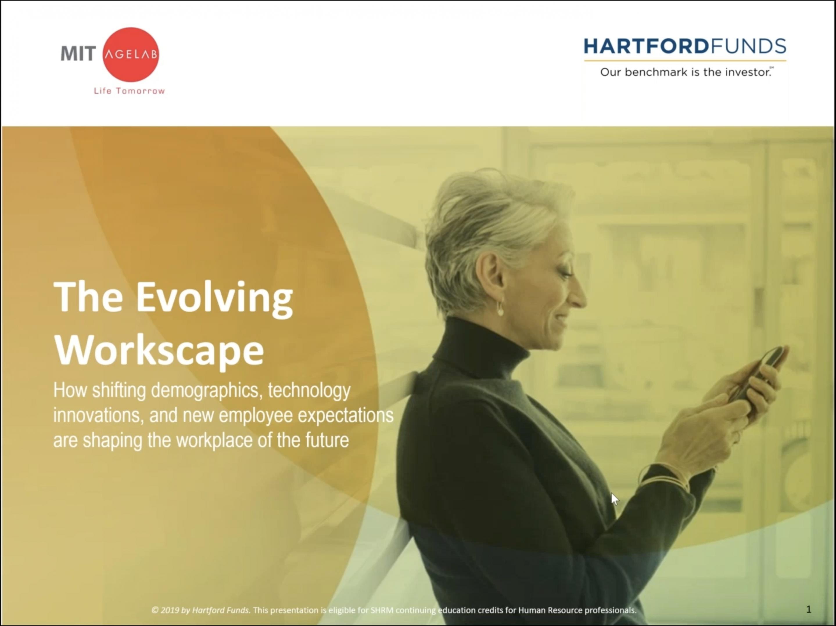 MIT AgeLab: Evolving Workscape